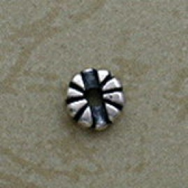 Floral Sterling Silver Beads