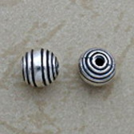 Solid sterling bead
