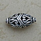 Openwork Oblong Oval Bead