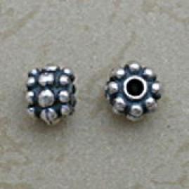 Oval Granulated Bead