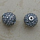 Caviar Accented Round Bead