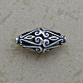 Conical Swirled Filigree Bead