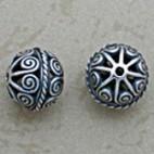 Ornate Swirled Filigree Bead