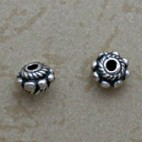 Sterling spacer with dots