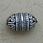 Elaborate Swirled Oblong Bead