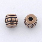 Spacer with silver dots (Bronze)