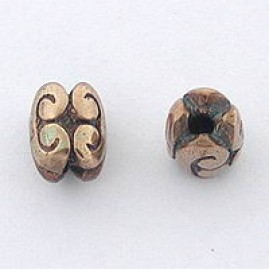 Double swirl (Bronze)