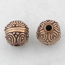 Smooth wire and balls (Bronze)