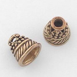 Conical Bead Cap (Bronze)