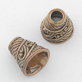 Conical Bead Cap (Bronze)