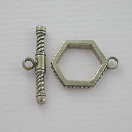 Hexagon shape (Bronze)